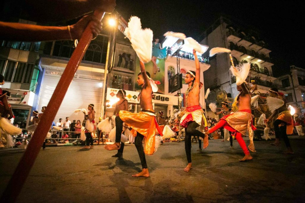 Kandy, Sri Lanka, 2016.Esala Perahera, the biggest buddhist Festival of Asia.© Flavia Scalambretti